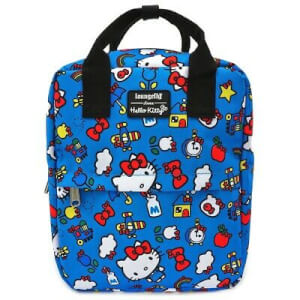 Loungefly Sanrio Hello Kitty 45th Anniversary AOP Nylon Backpack