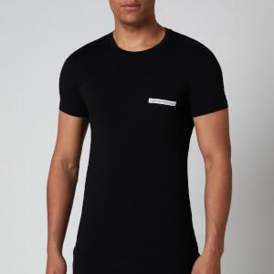 Emporio Armani Men's New Icon T-Shirt - Black