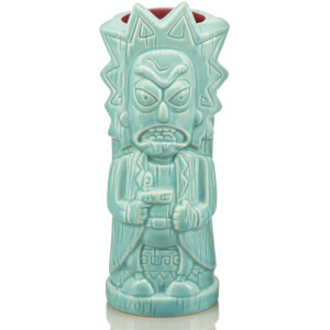 Beeline Creative Rick and Morty Rick Geeki Tiki