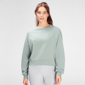MP Women's Composure Sweatshirt- Washed Green