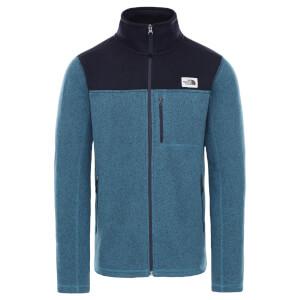 The North Face Men's Gordon Lyons Full Zip Fleece - Mallard Blue/Aviator Navy
