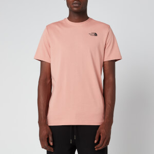 The North Face Men's Redbox T-Shirt - Pink Clay/TNF Black