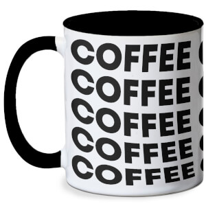 Coffee Mug - White/Black