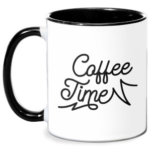 Coffee Time Mug - White/Black