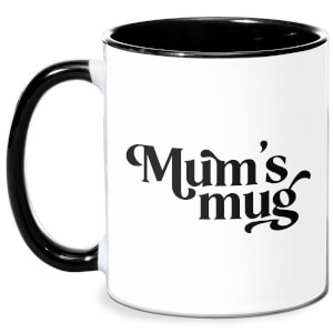 Mum's Mug Mug - White/Black