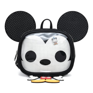 Loungefly Pop! Disney Mickey Mouse Pin Trader Cosplay Mini Backpack