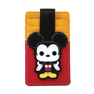 Loungefly Pop! Disney Mickey Cardholder