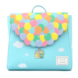 Loungefly Disney Up Balloon House Flap Mini Backpack