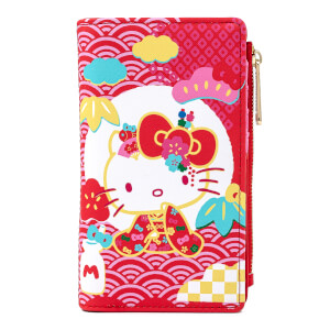 Loungefly Sanrio 60th Anniversary Hello Kitty Flap Wallet