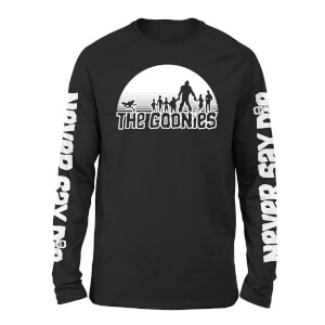 The Goonies Never Say Die Unisex Long Sleeve T-Shirt - Black