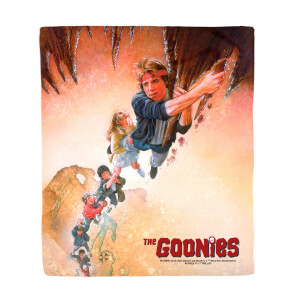 The Goonies Retro Poster Art Fleece Blanket