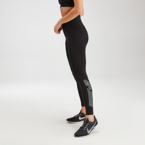 MP Women's Outline Graphic Leggings - Black