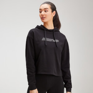 MP Women's Outline Graphic Hoodie - Black