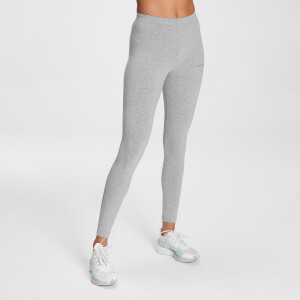 MP Women's Tonal Graphic Leggings - Grey Marl