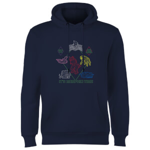 Power Rangers Dinozords Bluprint Hoodie - Navy