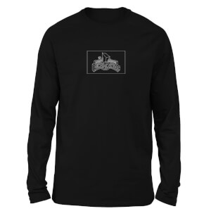 Power Rangers Zords List Unisex Long Sleeve T-Shirt - Black