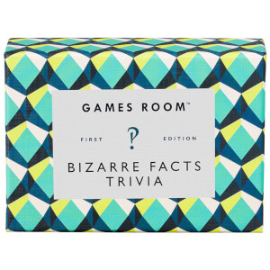 The Games Room Bizarre Facts Trivia Cards