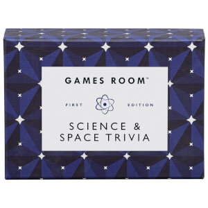 The Games Room Science & Space Trivia Cards