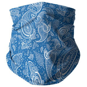Blue Paisley Snood