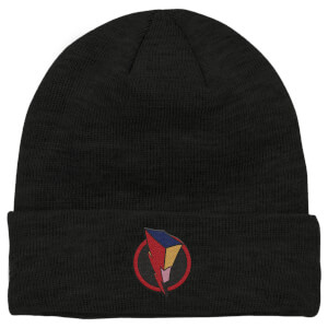 Power Rangers Bolt Patch Beanie - Black