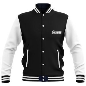 The Goonies Never-Say-Die Men's Varsity Jacket - Black
