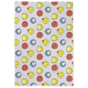 Smiley Pattern Tea Towel