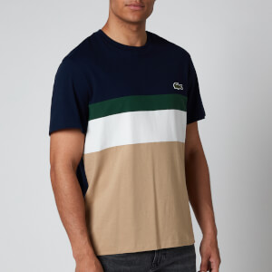 Lacoste Men's Cut and Sew T-Shirt - Multi