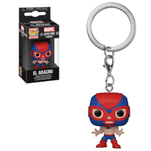 POP Portachiavi: Marvel Lucha Libre- Spider-Man