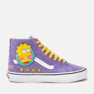 Vans X The Simpsons Sk8 Hi-Top Trainers - Lisa 4 Prez
