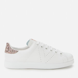 Victoria Women's Sustainable Leather Cupsole Trainers - Rosa