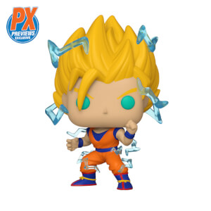 PX Previews Dragon Ball Z Super Saiyan 2 Goku EXC Funko Pop! Vinyl Figure