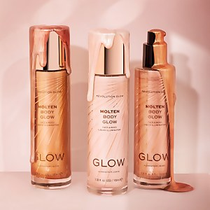 Makeup Revolution Glow Molten Body Liquid Illuminator (Various Shades)