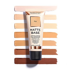 Makeup Revolution Matte Base Foundation (Various Shades)