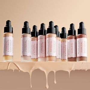 Makeup Revolution Conceal & Hydrate Foundation (Various Shades)