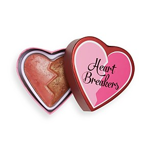 I Heart Revolution Heartbreakers Shimmer Blusher - Powerful