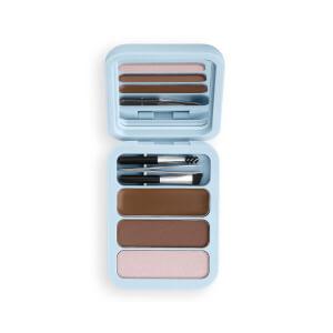 Makeup Obsession Brow Goals Brow Kit - Light/Medium Brown