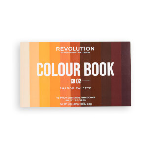 Makeup Revolution Colour Book Eyeshadow Palette CB02