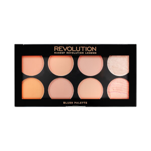 Makeup Revolution Makeup Ultra Blush Palette - Hot Spice