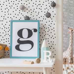 Superfresco Easy Black/White Confetti Wallpaper