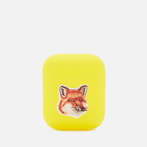 Maison Kitsuné Women's Nu Airpods Case - Yellow