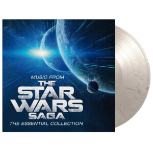 Music From The Star Wars Saga - The Essential Collection White and Black Marbeled LP