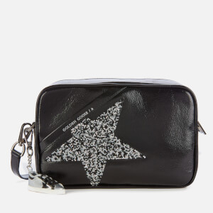 Golden Goose Deluxe Brand Women's Star Cross Body Bag - Black/Crystal