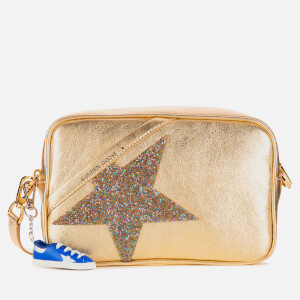 Golden Goose Deluxe Brand Women's Metallic Star Cross Body Bag - Gold/Crystal
