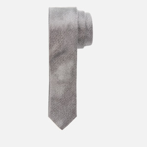 Canali Men's Silk Self Pattern Tie - Multi