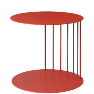 Broste Copenhagen Pouf Steel Table - Auburn