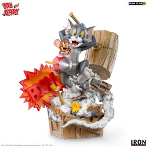 Iron Studios Tom & Jerry Prime Scale Statue 1/3 Tom & Jerry 21 cm
