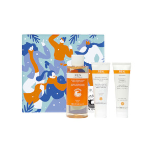 REN Clean Skincare Glow to Go Trio - Worth $52.00