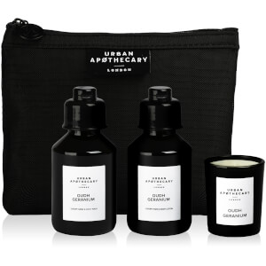 Urban Apothecary Oudh Geranium Luxury Bath and Fragrance Gift Set (3 Pieces)
