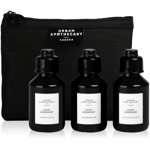 Urban Apothecary Oudh Geranium Luxury Bath and Body Gift Set (3 Pieces)