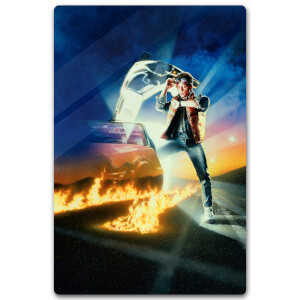 Zavvi Exclusive Limited Edition Back To The Future Metal Poster - 40 X 60cm